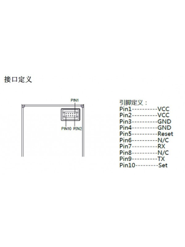 PM2.5感測器 ( PMSA003 ) PMSA003