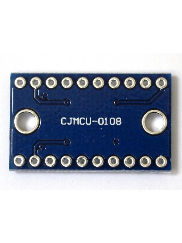 I/O雙向電壓轉換器 ( 8 port ) TXS0108E